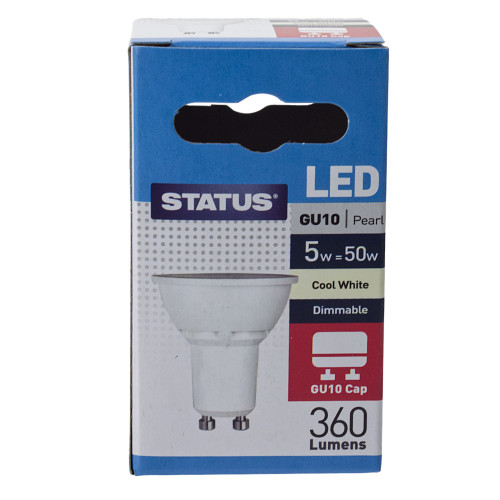 GU10 LED 5w Cool White Dimmable 7246760