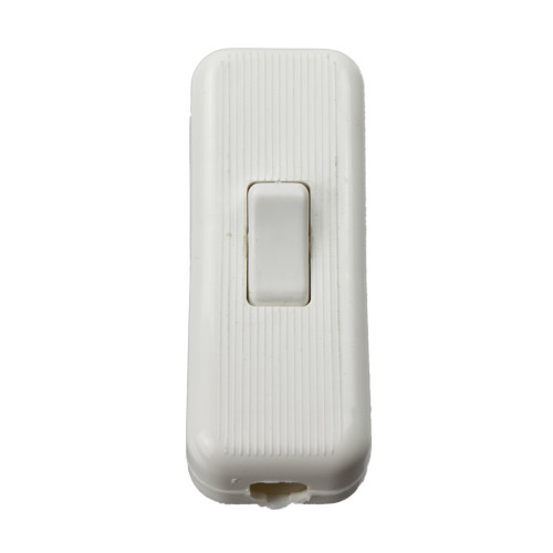 In Line Table Switch White PLU6015