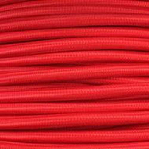 3 Core Braided Red Round Flex 0.75mm PLU93580