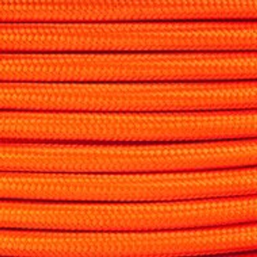 2 Core Braided Orange Round Flex 0.75mm PLU32315