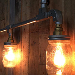 Galvanised Lamp Fittings