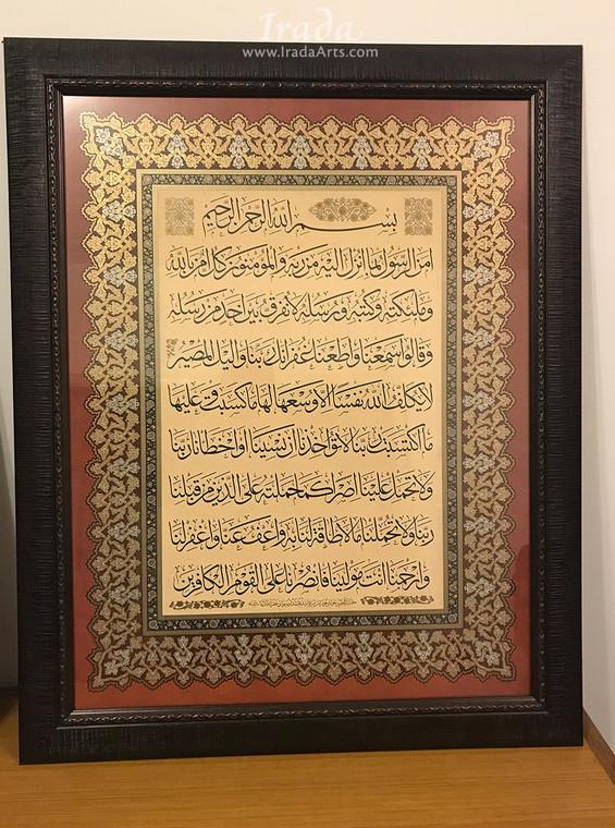 Amana Rasul - Framed Print - Version A