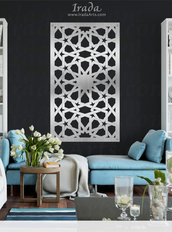 Arabesque Geometric Panel