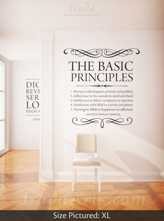 Zarruq's Basic Principles - Decal