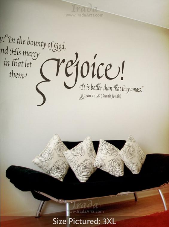 Rejoice - Decal