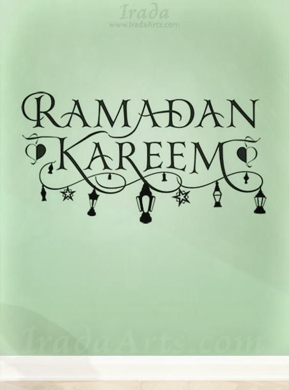 Ramadan Kareem (Swashes with Fanoos)