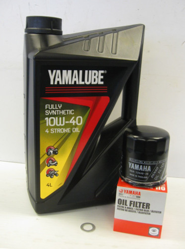 Yamalube Fully Synthetic Oil Service Kit -Yamaha MT 09, XSR900, Tracer 900