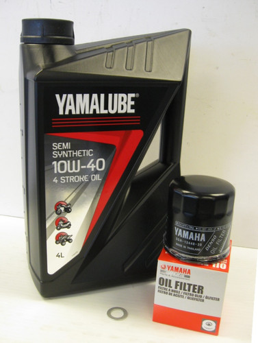 Yamalube Semi-Synthetic Oil Service Kit - Yamaha MT-07, XSR700, Tracer 700
