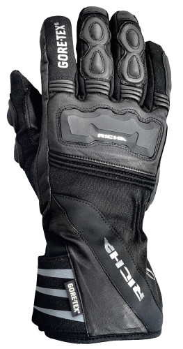 RICHA Cold Protect Gore-Tex Waterproof Motorcycle Gloves -Black