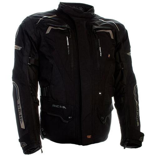 RICHA Infinity 2 Waterproof Motorcycle Jacket - Black