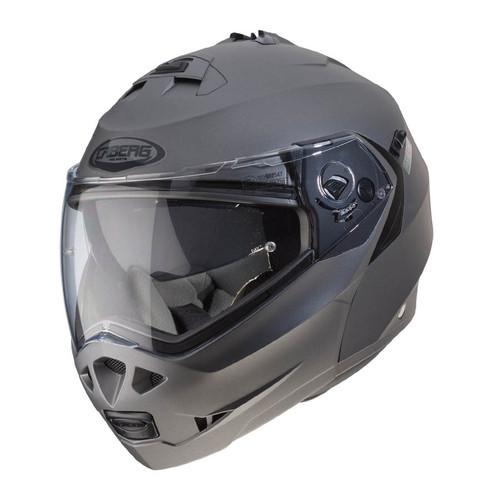 Caberg Duke II Motorcycle Modular Flip Helmet - Matt Gun Metal
