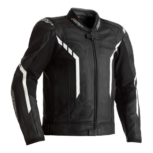 RST Axis Leather Motorcycle Jacket -Black