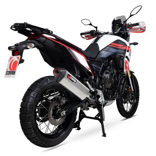 Scorpion Stainless Serket Parallel Slip-On Exhaust for Yamaha 700 Tenere RYA114SEO