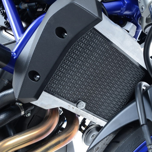 R&G Radiator Guard RAD0171BK Yamaha MT-07 '14-, XSR700 '16- and Tracer 700 '16-'17