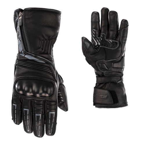 RST Storm 2 Leather CE Waterproof Motorcycle Glove - Black