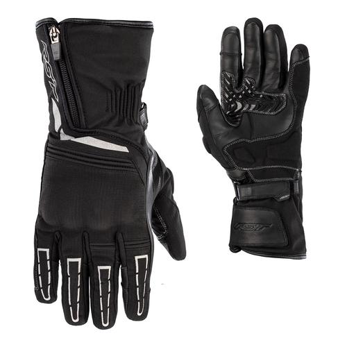 RST Storm 2 Textile CE Waterproof Motorcycle Glove - Black