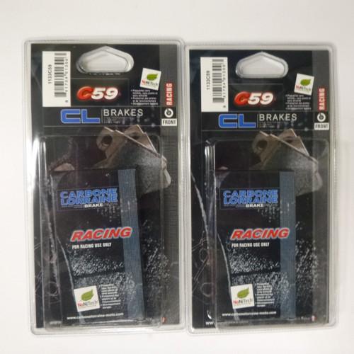 Carbone Lorraine  CL 1133 C59 Race Brake Pads- Suzuki GSXR600 750 1000 K4-L0