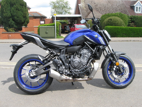 Yamaha MT-07. Upgraded facelift model, new for 2021. From stock!