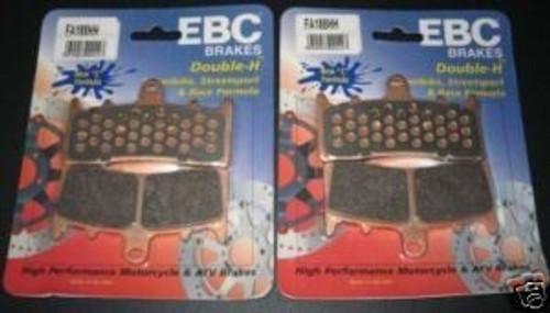 EBC Brake Pads FA188HH ZX6R ZX9R ZRX1200 GSXR TL1000R