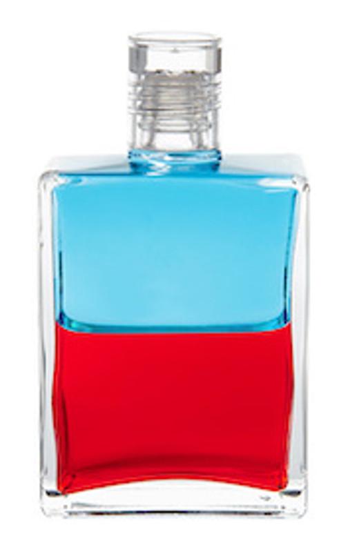 #117 Equilibrium Pan Turquoise/Red