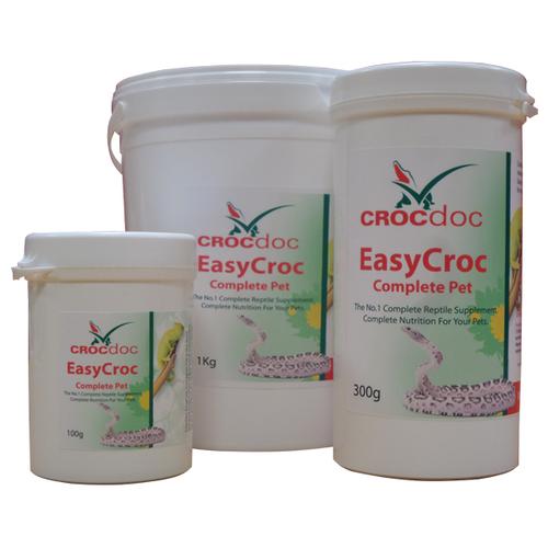 EasyCROC Complete Pet Supplement for reptiles