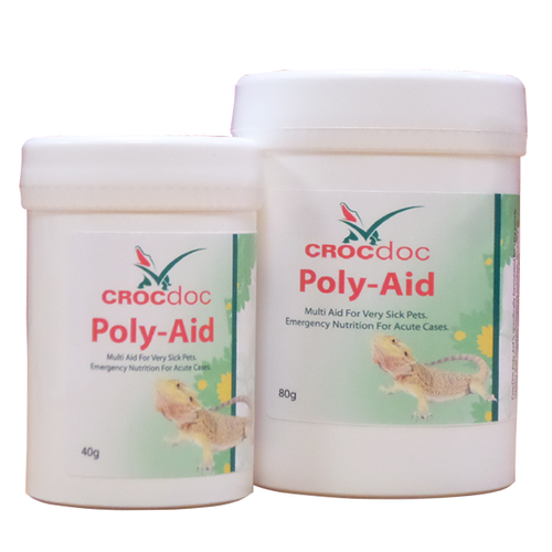 CROCdoc Poly Aid - Emergency nutrition for acute cases in sick reptiles