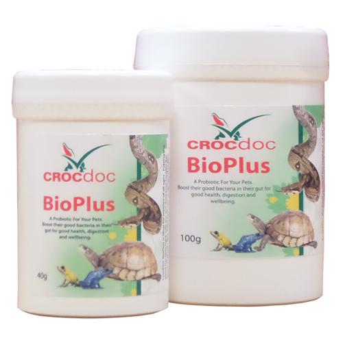 CROCdoc BioPlus probiotic supplement for retiles