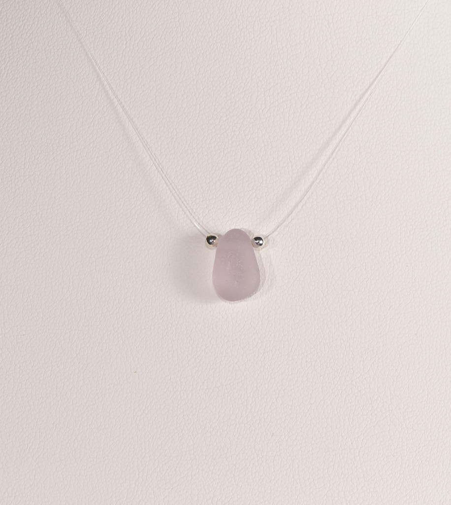 Petite Light Lavender Illusion Necklace