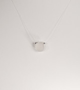 Petite Clear Illusion Necklace