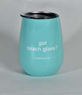 got beach glass? Steel insulated cup