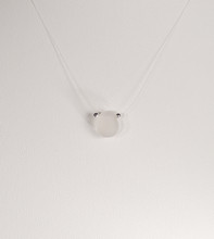 Petite Clear Illusion Necklace