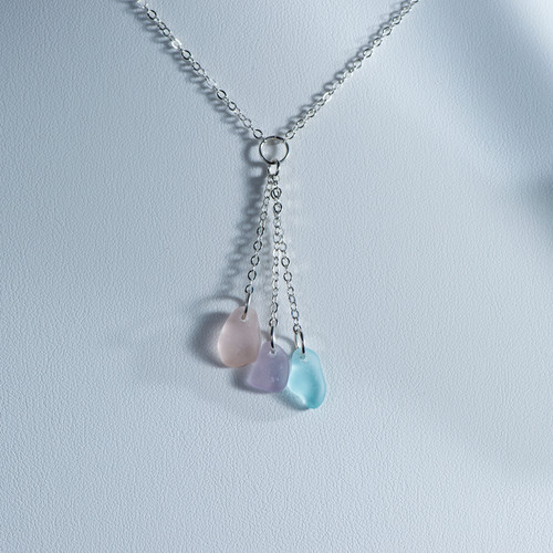 Pastel Y Necklace