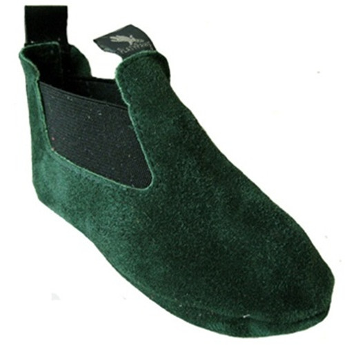 BOBBY Green Suede