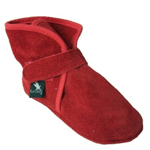WALLIS Red Suede