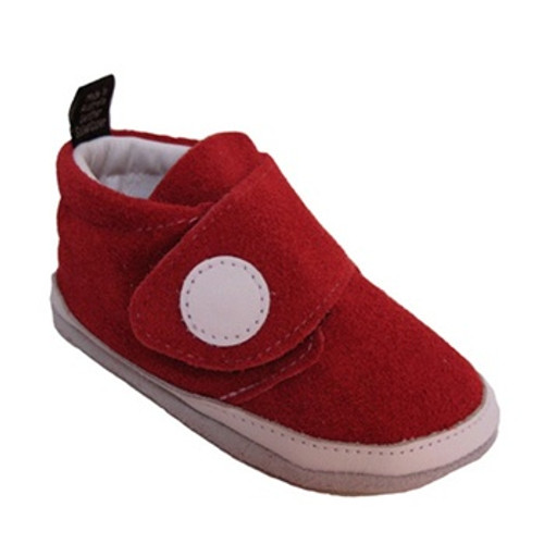 JACKY Red Suede
