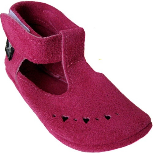 PATSY Hot Pink Suede