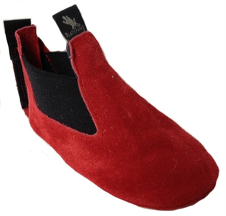 BOBBY Red Suede