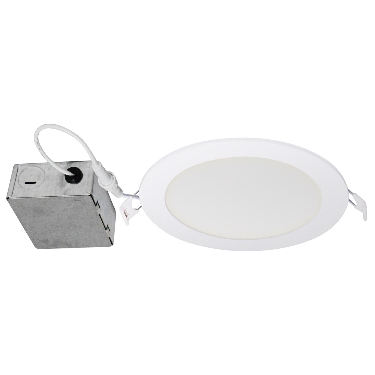 6 led slim recessed downlight round 4000k