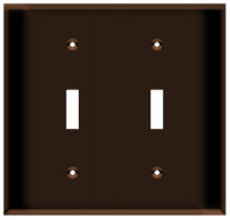 Toggle Switch Wall Plates 1to 6 Gang
