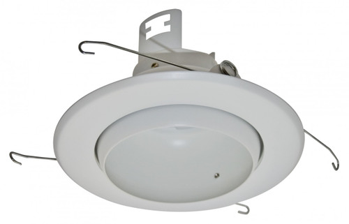 """(EB5/W) Eyeball White for 5"""" Recessed Can"""