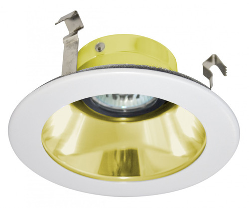 """(PGL) Reflector Gold Finish for 4"""" Low Voltage Recessed Can"""