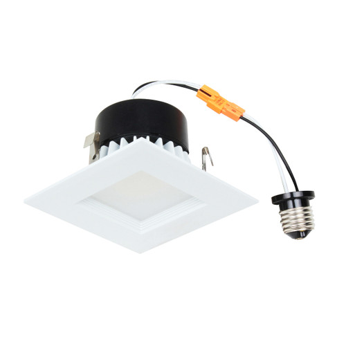 "4"" Recessed downlight fixture solution with integrated LED power supply and thermal management system combined in a single compact unit.  No tools required for installation LED Driver built-in Fits most 4"" recessed cans Input Voltage: 120V AC Lumens: 715lm Wattage: 10W CCT: 4000K CRI: 90 Lifetime: 36,000 Hours"
