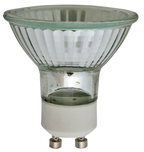 (120EYC/GU10/CG) MR16 EYC Type 75W GU10 Base w/ Cover Glass 120V