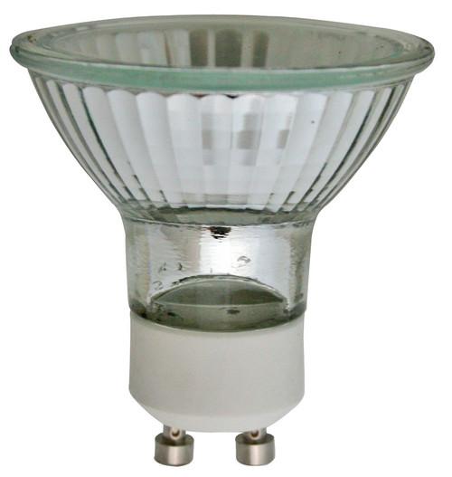 (120BAB/GU10/CG) MR16 BAB Type w/ Glass Cover 20W GU10 Base 120V