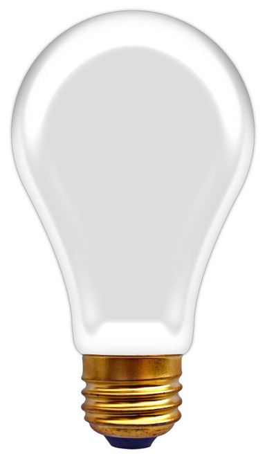 (A19/F/50/12V) Incandescent Rough Service A19 50W 12V Frosted