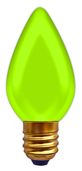(C7/7/GREEN) Incandescent C7 7W Green