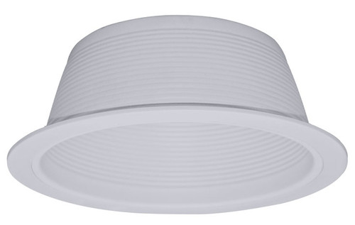 "(SB30/W) Stepped Baffle White for  6"" Recessed Can"