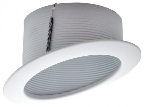 """(SB40/W/SLOPE) Slope Stepped Baffle White for  6"""" Recessed Can"""