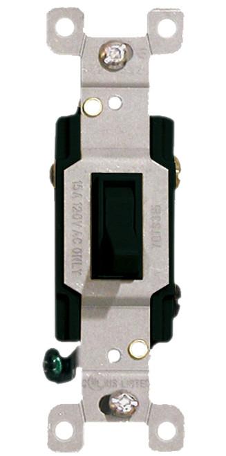 (S3B) Three Way Toggle Switch 15A Black