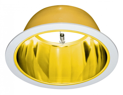 "(PG) Polished Alzak Reflector Gold for 6"" Recessed Can"